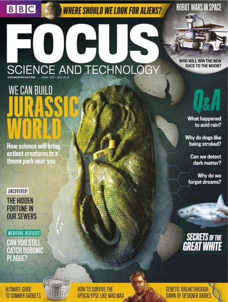 BBC Focus – Science & Technology – July 2015