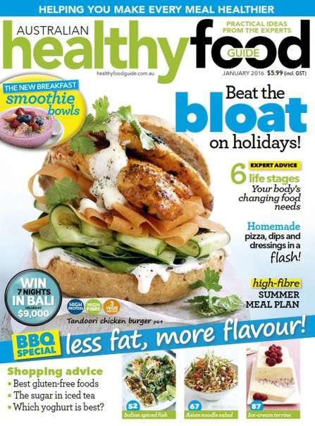 Healthy Food Guide – January 2016 AU