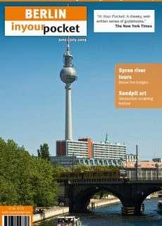 Berlin In Your Pocket – June/July  2009