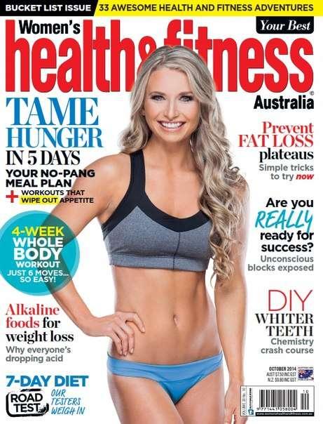 Women 39 s Health and Fitness Magazine 2014-10
