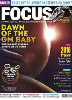 BBC Focus Science & Technology – January 2016