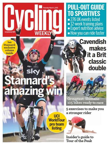 Cycling Weekly – 5 March 2015