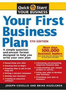 Your First Business Plan 5th Edition