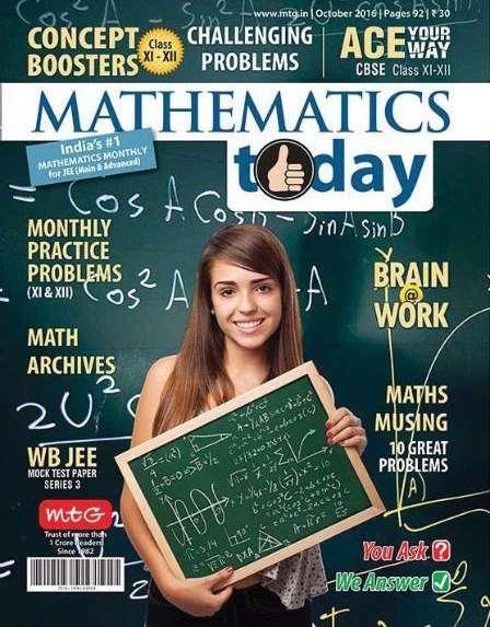 Mathematics Today – October 2016