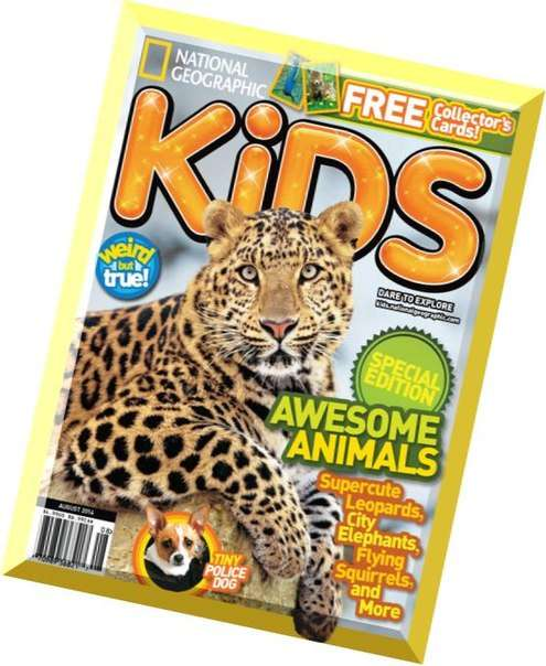 National Geographic Kids – August 2014