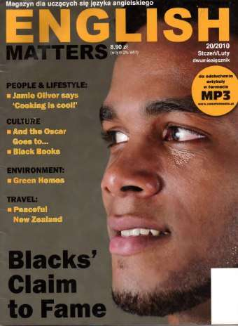 English Matters Number 20 – January/February 2010