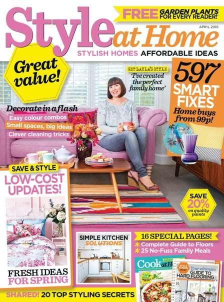 Style at Home – April 2016
