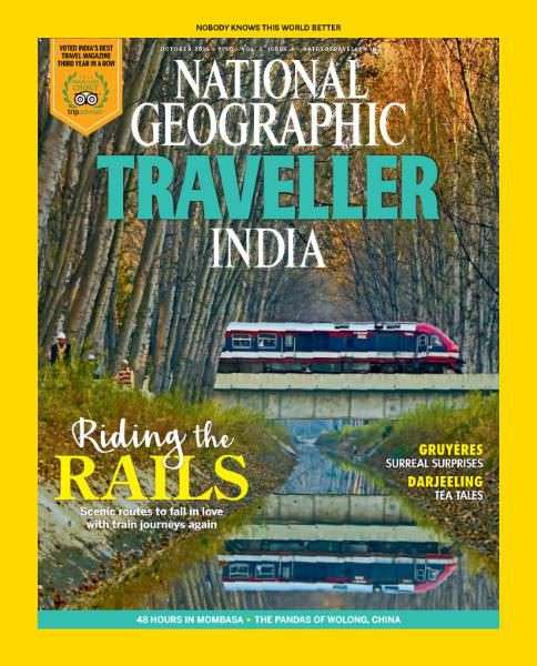 National Geographic Traveller India – October 2016
