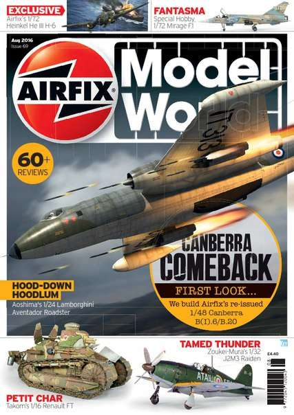 Airfix Model World – August 2016