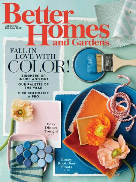 Better Homes and Gardens – March 2016