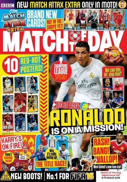 Match of the Day Magazine – Issue 397