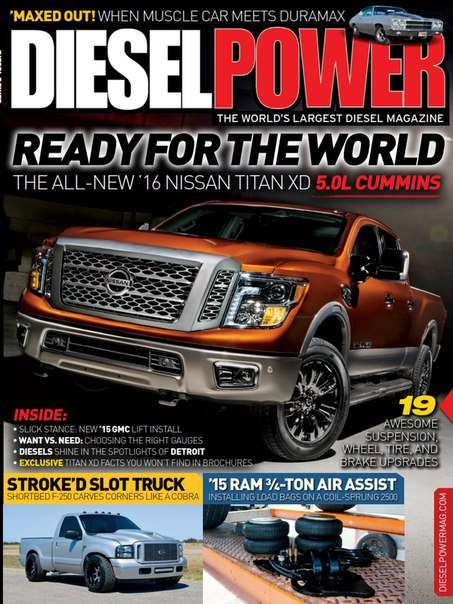 Diesel Power – May 2015