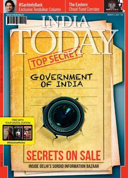 India Today – 9 March 2015