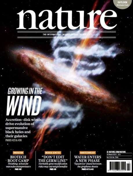 Nature Magazine – 26 March 2015