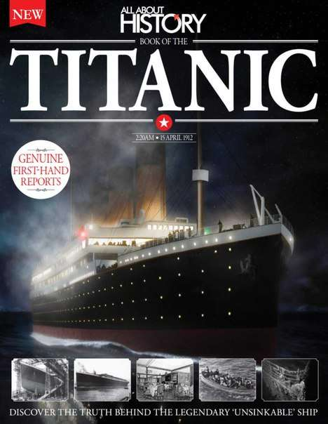 AAH Book of The Titanic 3rd Ed – 2016 UK