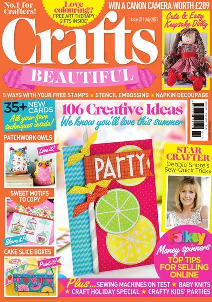 Crafts Beautiful 2015 July