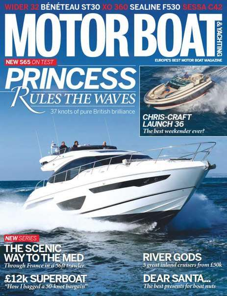 Motor Boat & Yachting – January 2016 UK