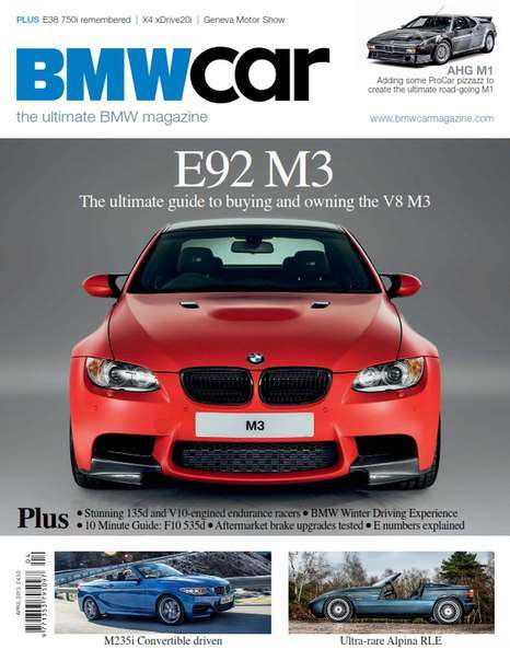 BMW Car – April 2015