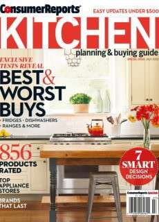 Consumer Reports Kitchen Planning and Buying Guide – July 2015