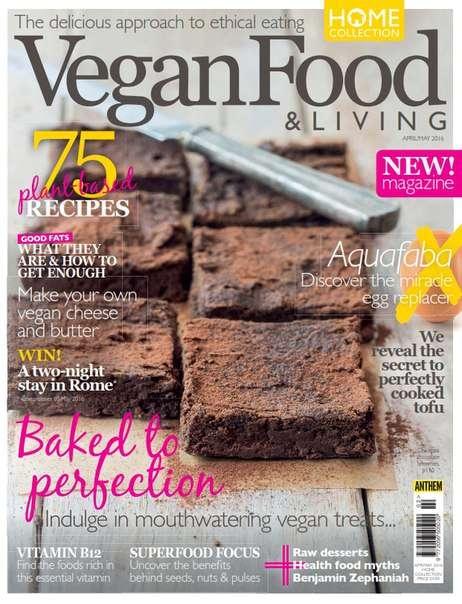 Vegan Food & Living – April-May 2016