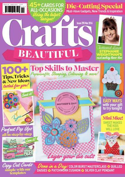 Crafts Beautiful – March 2016