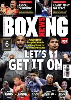 Boxing News – March 19, 2015