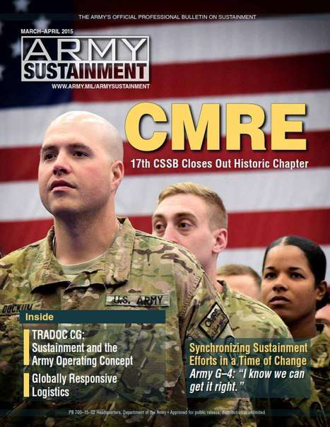 Army Sustainment – March–April 2015
