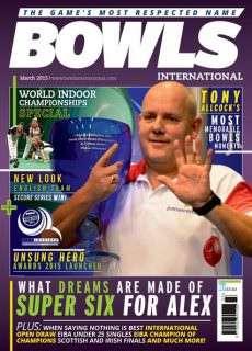 Bowls International – March 2015