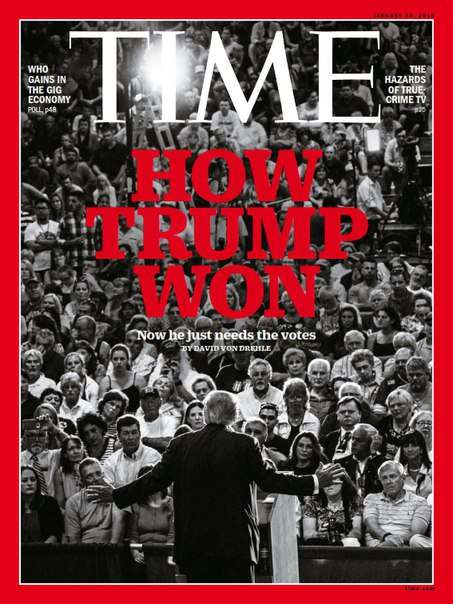 Time Magazine – January 18 2016