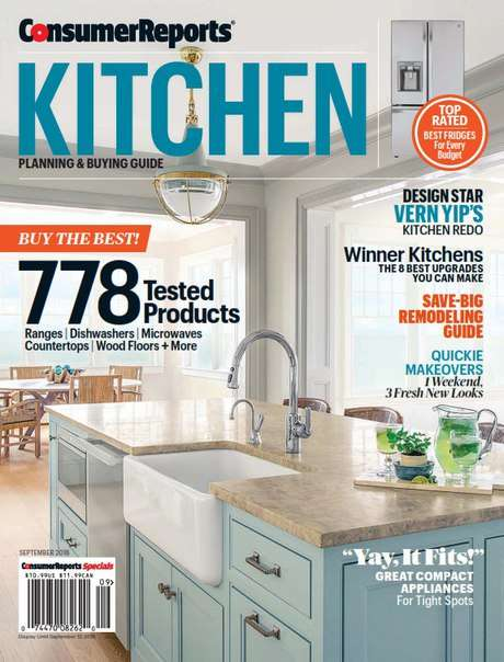 Consumer Reports Kitchen Planning and Buying Guide – September 2016