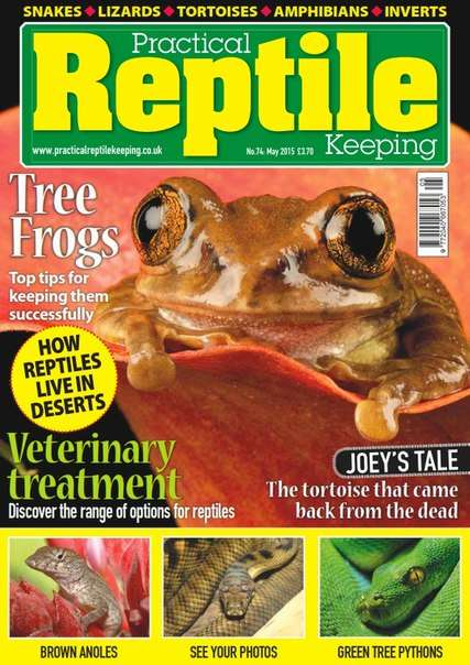 Practical Reptile Keeping – May 2015