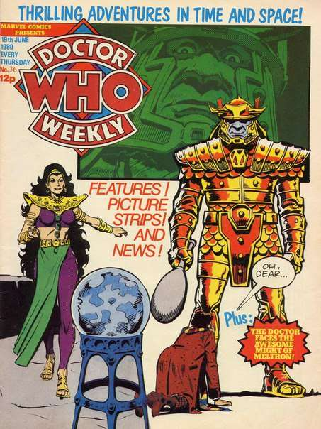Doctor Who Weekly – Issue 036 (1980)
