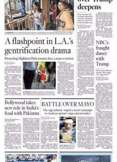 Los Angeles Times October 11, 2016