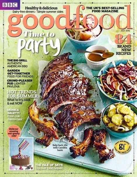 BBC Good Food July 2015