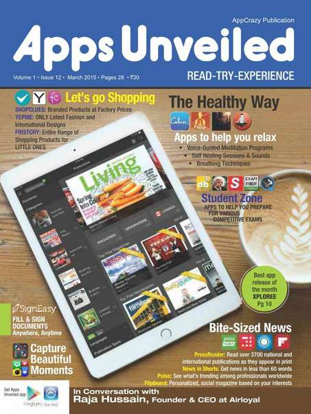 Apps Unveiled – March 2015
