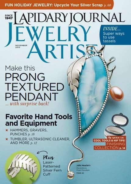 Lapidary Journal Jewelry artist – November 2015