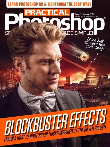 Practical Photoshop – August 2015 UK