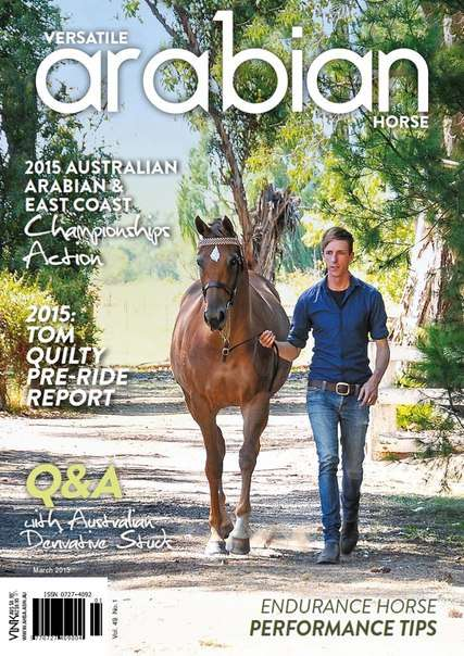 Australian Arabian Horse News – March  2015
