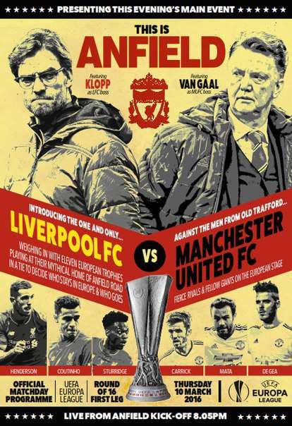 Liverpool FC vs. Manchester United FC – 10 March 2016