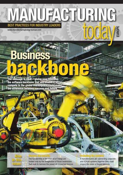 Manufacturing Today Europe Issue 115, 2015
