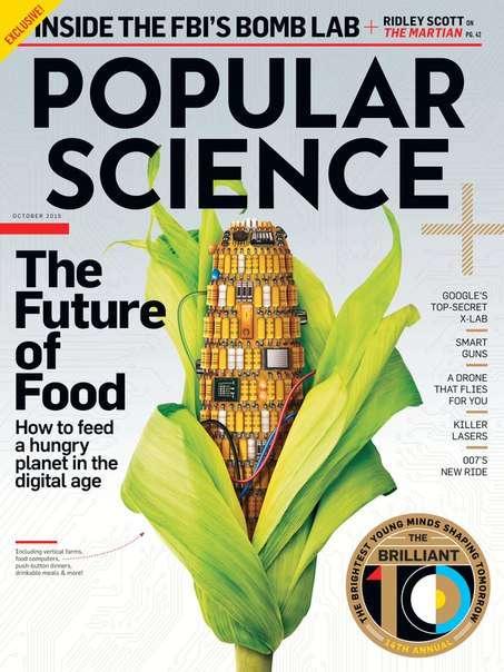 Popular Science USA  October 2015