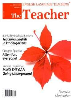 The teacher number.111 – August/September 2013