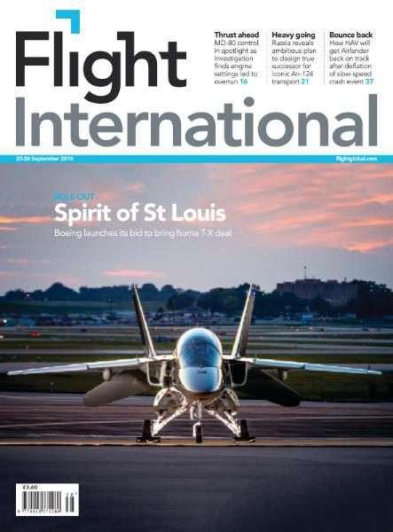 Flight International – 20-26 September 2016