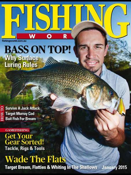 Download fishing world january 2015 pdf magazine free for Free fishing magazines