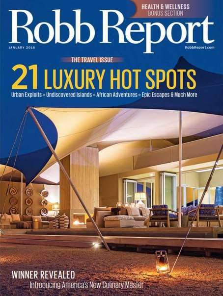 Robb Report – January 2016