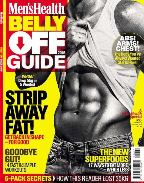 Men s Health Belly Off Guide – 2016 Special Edition