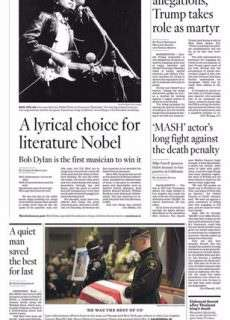 Los Angeles Times October 14, 2016