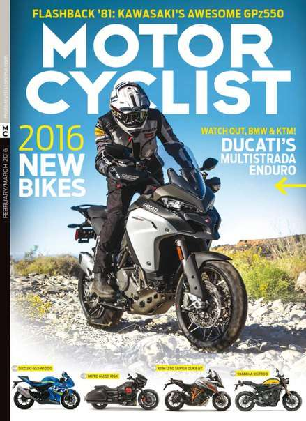 Motorcyclist – March 2016