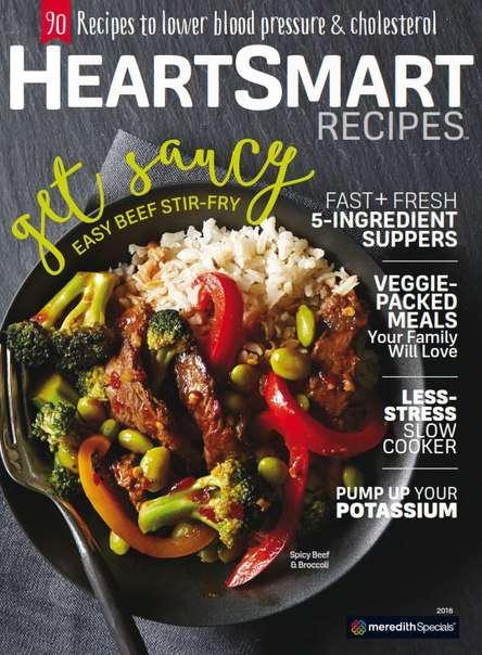 Heart-Smart Recipes 2016