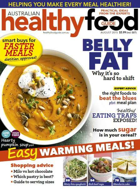 Healthy Food Guide – August 2015 AU